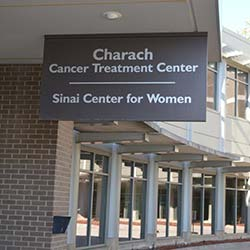 Sinai Center for Women sign